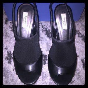Simply Vera wang Black Heels